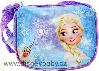 Kabelka Frozen (Ledové Království) dětská kabelka s popruhem lesklá fialová 0e4e3b83722