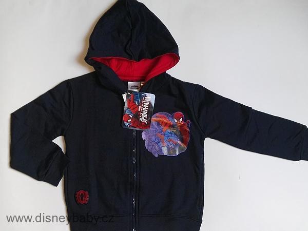 29398f73fc Mikina Spiderman s kapucí s potiskem