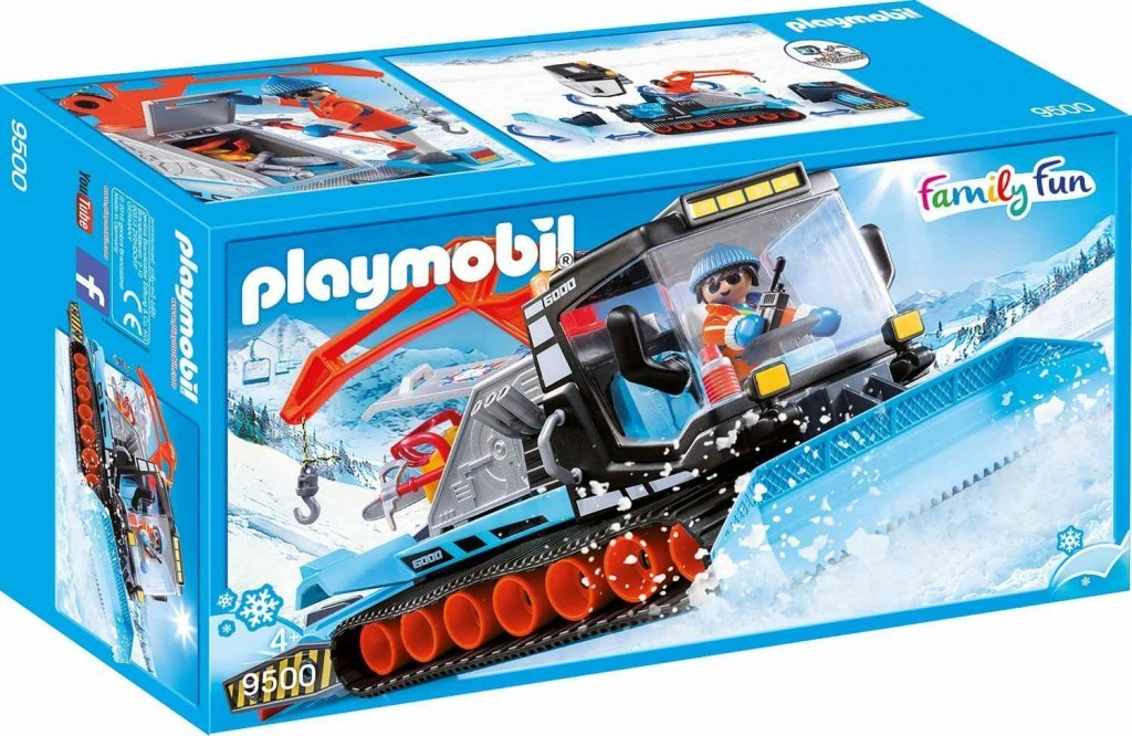 PLAYMOBIL® Family Fun 9500 Sněžná rolba